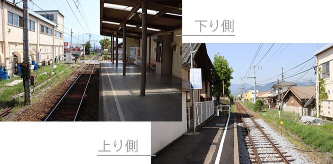 赤坂上駅ホーム