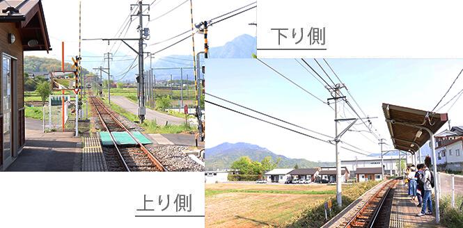 寺下駅ホーム