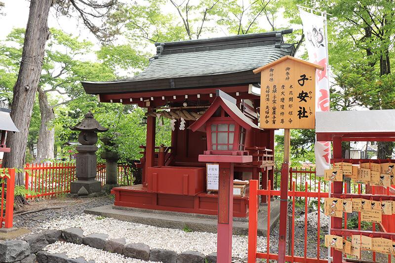生島足島神社 子安社