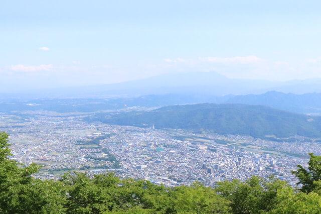 太郎山神社付近からの眺め